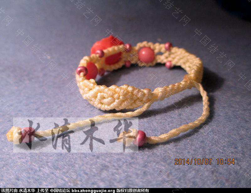 中国结论坛 [水清木华作品]24-花朵手链  作品展示 1228195eff2ffijiy2ci8y