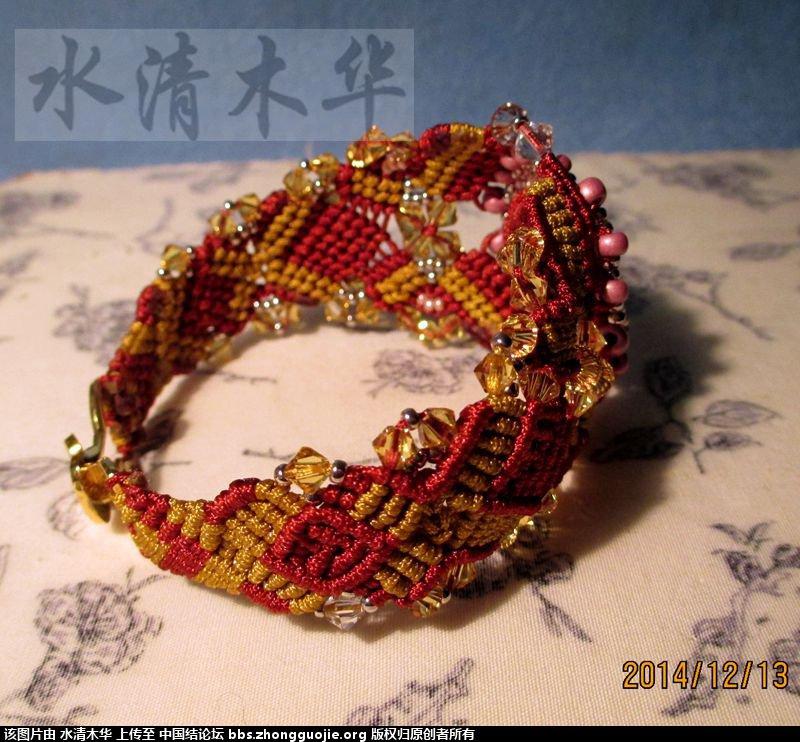 中国结论坛 [水清木华作品]33-结艺串珠手链-豪华版 豪华版,串珠 作品展示 232108kxlr1lofxllvurzu