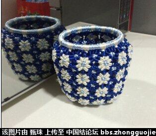 中国结论坛 青花瓷罐  立体绳结教程与交流区 2242471mrf7gckbda9drza