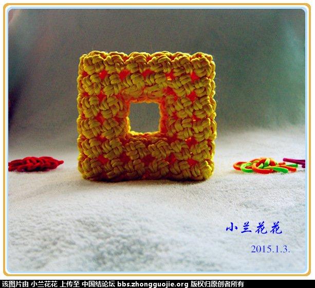中国结论坛 冰花结立体组合——正方形六面体通透之美 正方体,镂空,正方形 作品展示 1939061eccyssbpwtrb9pz