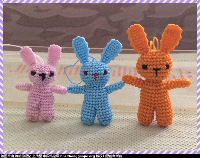 中国结论坛 和小白老师学编的小兔子 小白,老师,小兔子,兔子,草编兔子教程 作品展示 1417551xs33z2lhxevfl2l