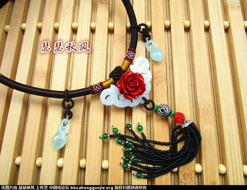 中国结论坛 学做的第一个项圈饰品 饰品,项圈 作品展示 095729nisit1i1izj121mi