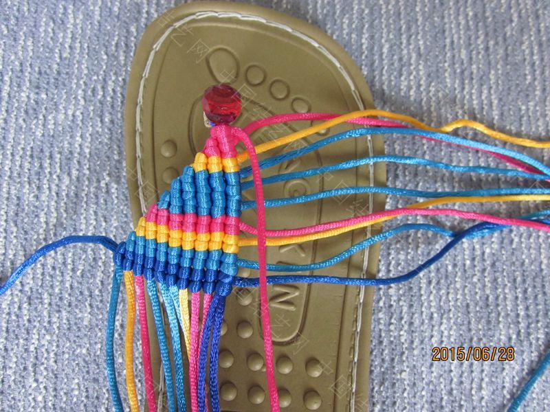 中国结论坛 简单好编的热带天使魚拖鞋 朋友,天使,拖鞋 图文教程区 141446usmgejpp1xg0zjn8