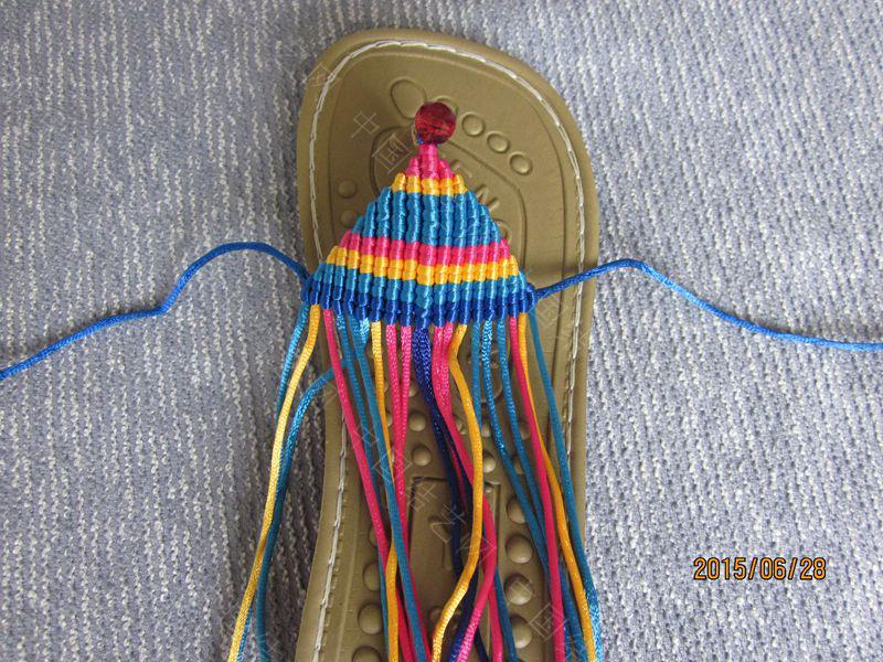 中国结论坛 简单好编的热带天使魚拖鞋 朋友,天使,拖鞋 图文教程区 141511snztf9473391vwv3