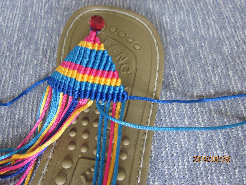 中国结论坛 简单好编的热带天使魚拖鞋 朋友,天使,拖鞋 图文教程区 141550m4rmdbxgu3c7wc7u