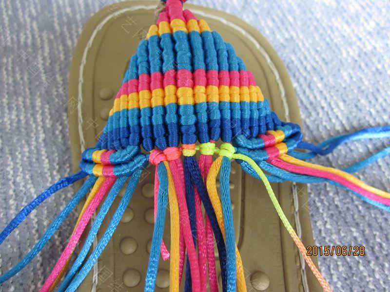 中国结论坛 简单好编的热带天使魚拖鞋 朋友,天使,拖鞋 图文教程区 142038tvui30qf0huhcc0j