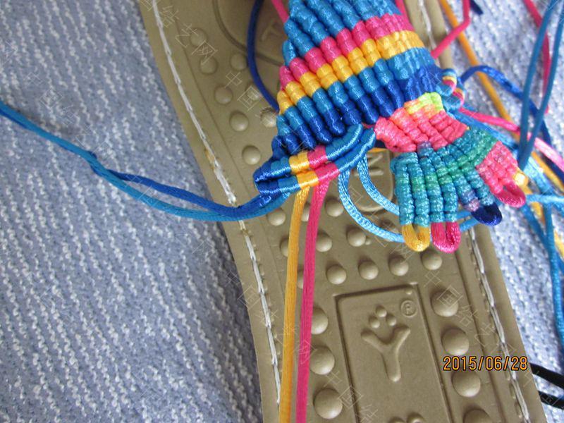 中国结论坛 简单好编的热带天使魚拖鞋 朋友,天使,拖鞋 图文教程区 143050z36huud3u2umu666