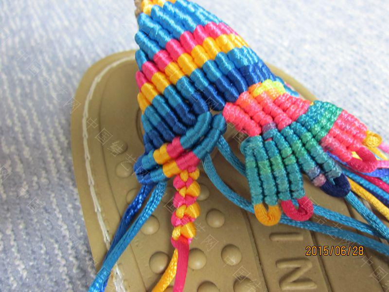 中国结论坛 简单好编的热带天使魚拖鞋 朋友,天使,拖鞋 图文教程区 143221spieqae9q3o9qa3q