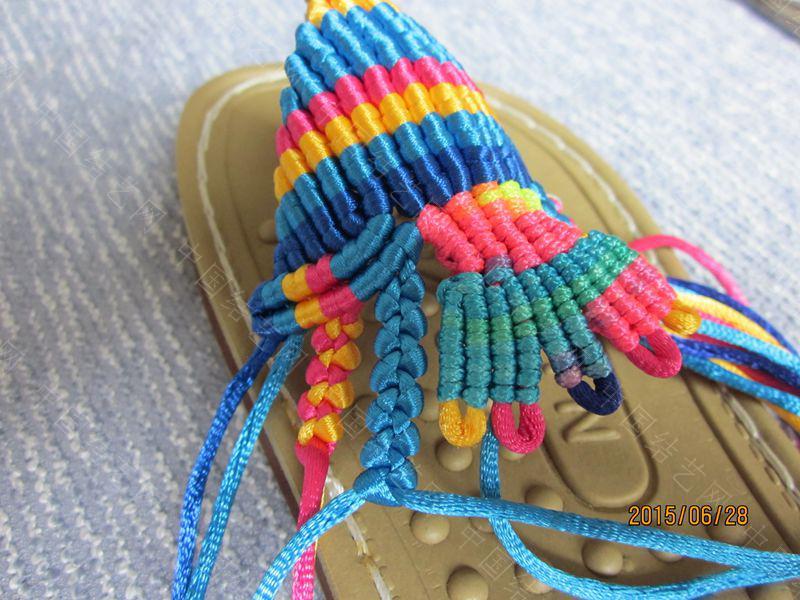 中国结论坛 简单好编的热带天使魚拖鞋 朋友,天使,拖鞋 图文教程区 143247qsql64i9osez966q
