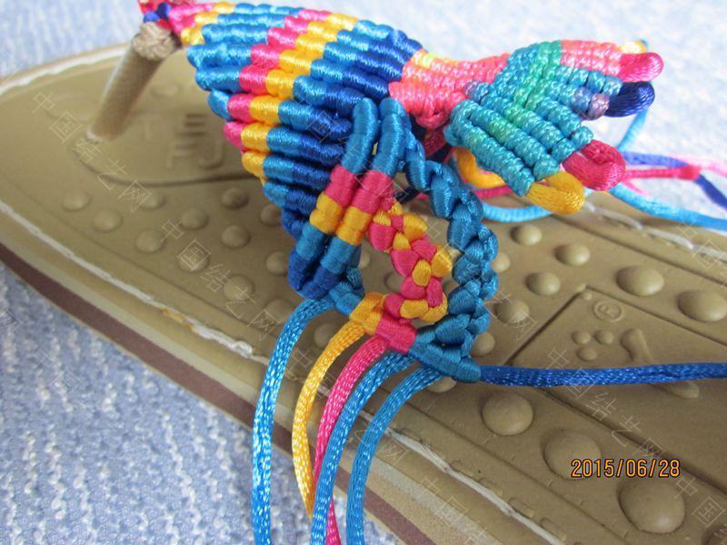 中国结论坛 简单好编的热带天使魚拖鞋 朋友,天使,拖鞋 图文教程区 143333w22u7609xxd99igu
