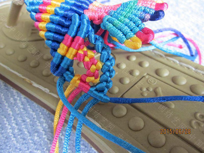 中国结论坛 简单好编的热带天使魚拖鞋 朋友,天使,拖鞋 图文教程区 143400sk85rezhghhnomiv
