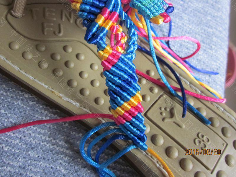 中国结论坛 简单好编的热带天使魚拖鞋 朋友,天使,拖鞋 图文教程区 143456p7ebbpoosq0qoisq