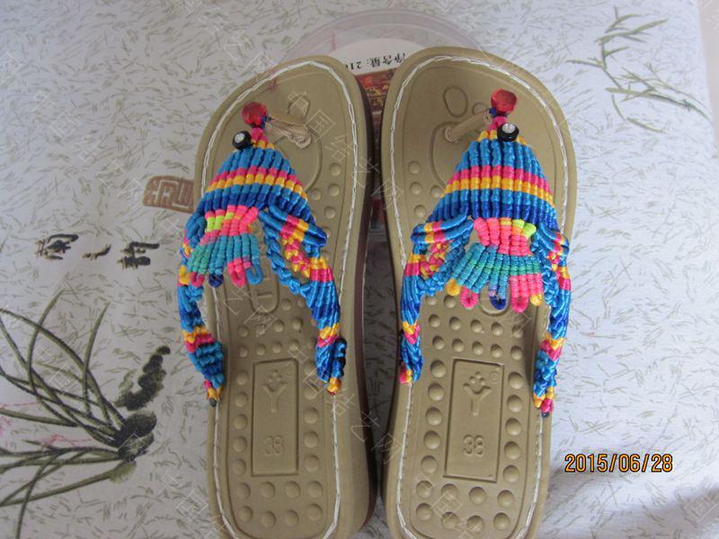 中国结论坛 简单好编的热带天使魚拖鞋 朋友,天使,拖鞋 图文教程区 143748ssqblkhsoobskljk