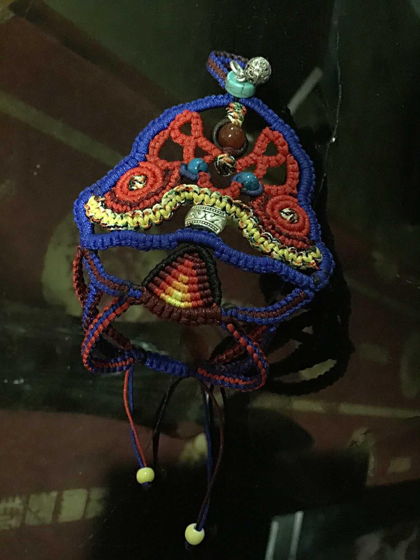 中国结论坛 我编的带在手背上的民族风饰品,第一次自己设计,感觉棒棒哒 民族,饰品 作品展示 120610uvf965bu0bgrbzvz