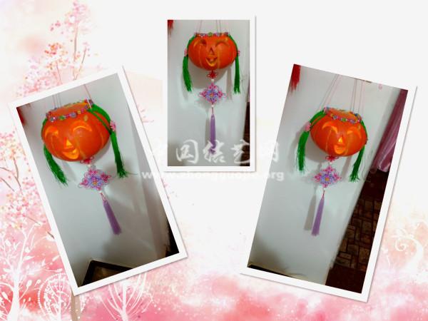 中国结论坛 和姑娘一起做的万圣节南瓜灯 南瓜灯 作品展示 120208t8nua070i1d8uw18