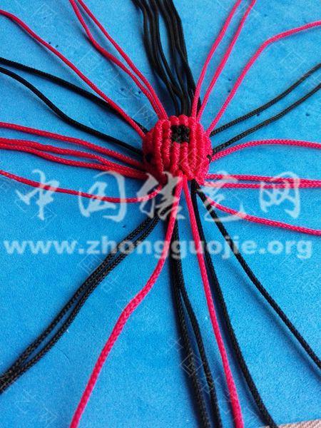 中国结论坛 瓢虫小草帽的编结过程 草帽 图文教程区 204022ue65ekeq557esr7x