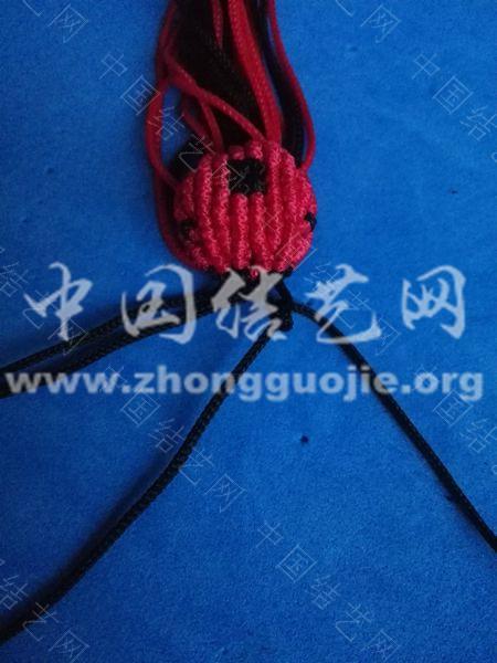 中国结论坛 瓢虫小草帽的编结过程 草帽 图文教程区 204416lr20h908e9rtad0h