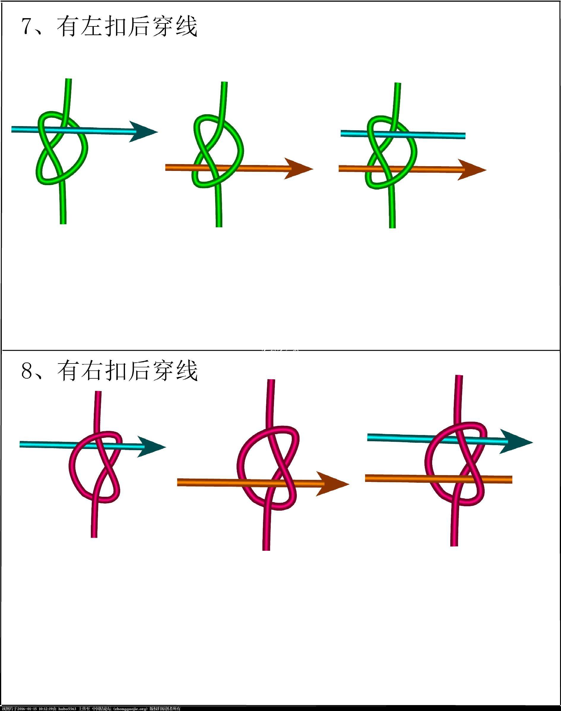 中国结论坛 穿轴同心结 同心 冰花结(华瑶结)的教程与讨论区 100830aplt2pppt2vd3gg6