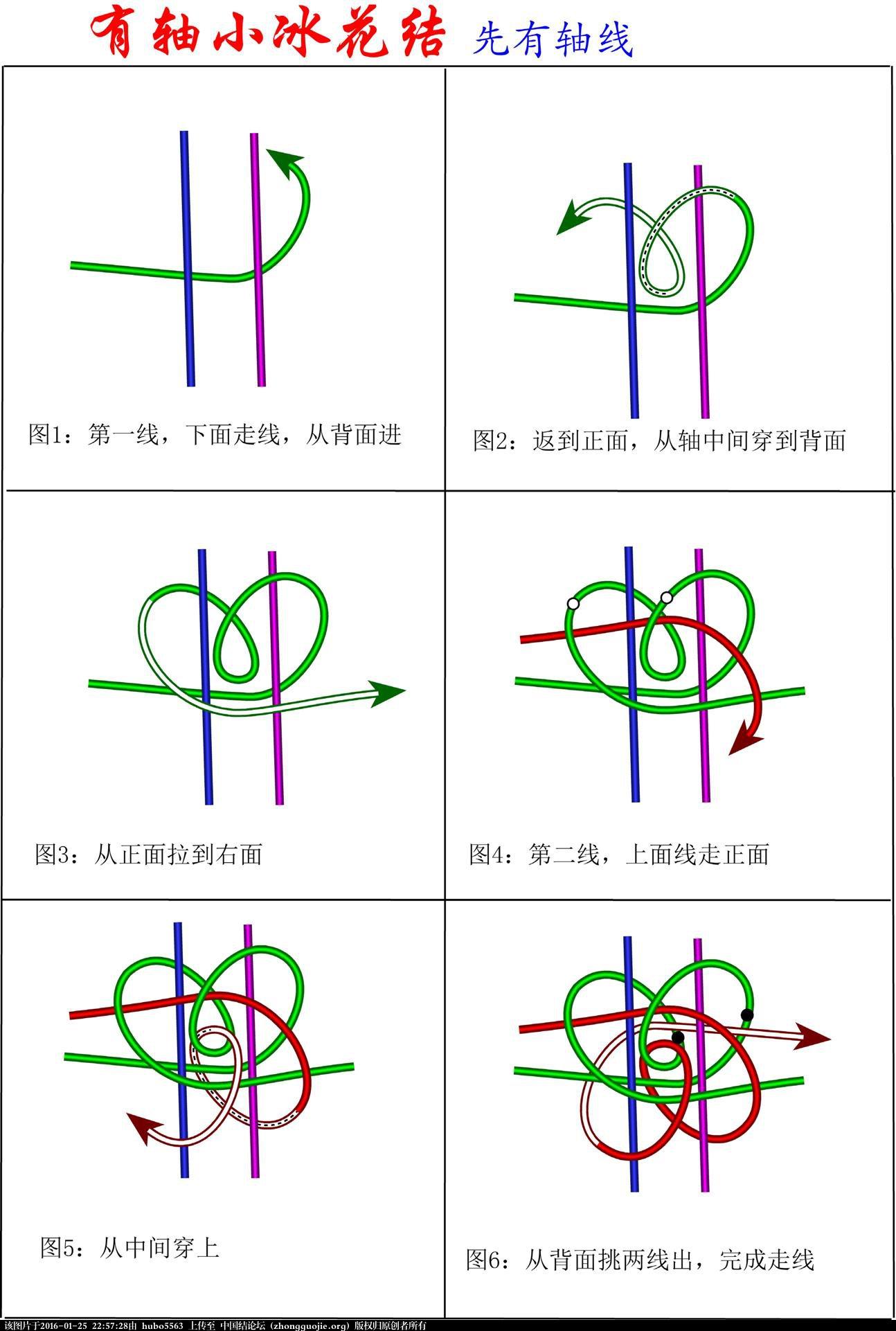 中国结论坛 穿轴小冰花结  冰花结(华瑶结)的教程与讨论区 225355twl3wheezmx2c9jj