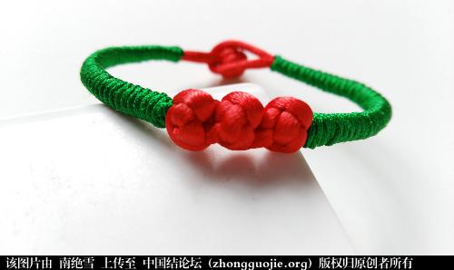 中国结论坛 大红大绿 红豆相思手链  作品展示 204109ens0r2nlnl6286d0