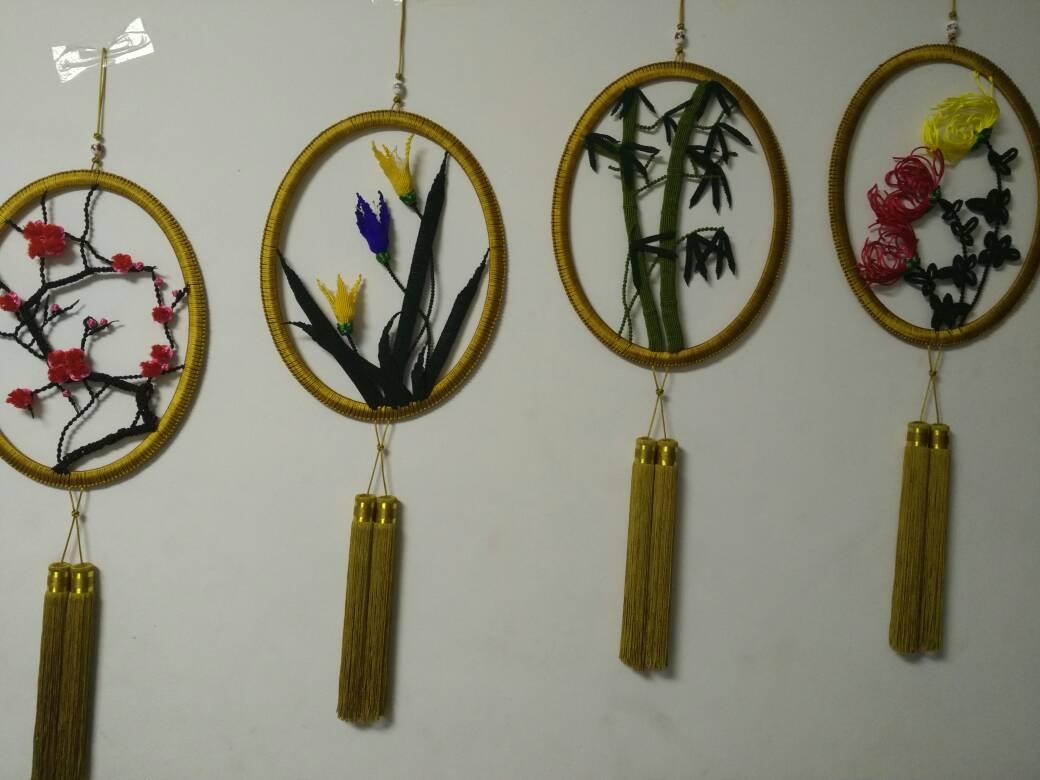 中国结论坛 终于完成了我的梅兰竹菊  作品展示 214044btv9ube09eub4hve