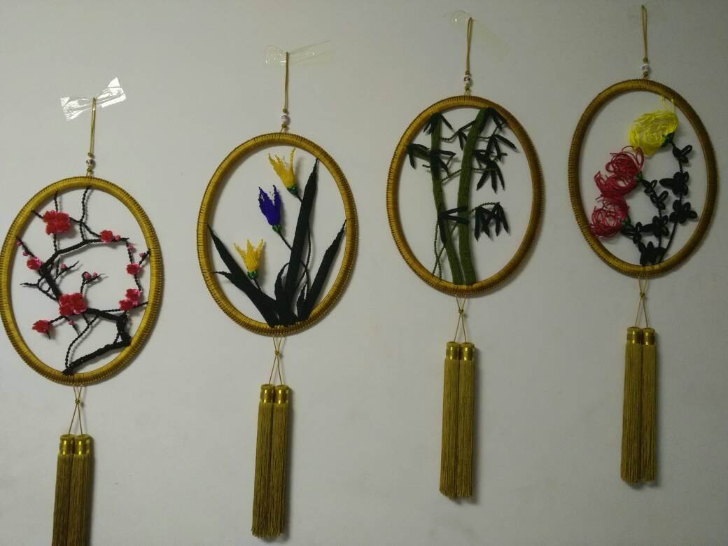 中国结论坛 终于完成了我的梅兰竹菊  作品展示 214045qazi35iia887qudi