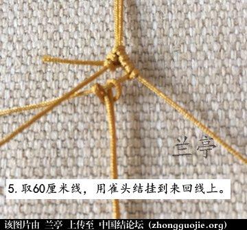 中国结论坛 过年给小孩编条小鱼手链吧(年年有余)  兰亭结艺 082345xr9wllw1d4ldnn8w