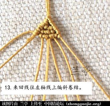 中国结论坛 过年给小孩编条小鱼手链吧(年年有余)  兰亭结艺 082347gsbey4wyb4oeb8y2