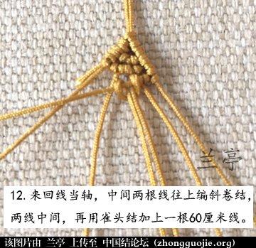 中国结论坛 过年给小孩编条小鱼手链吧(年年有余)  兰亭结艺 082347lbm6c1bj81hwcwq6
