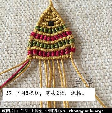 中国结论坛 过年给小孩编条小鱼手链吧(年年有余)  兰亭结艺 082358r9m45dqd5p45mp2t