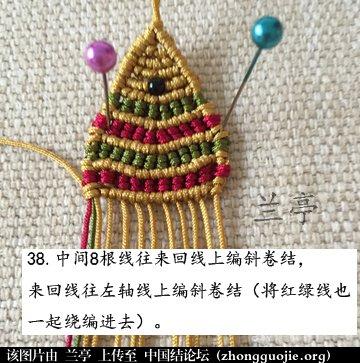 中国结论坛 过年给小孩编条小鱼手链吧(年年有余)  兰亭结艺 082358zb1o7frjn18i1yeb