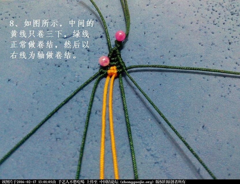 中国结论坛 简约款印度风项链-新手原创教程 印度,简约,项链 图文教程区 130034qah75zggaazhjygg