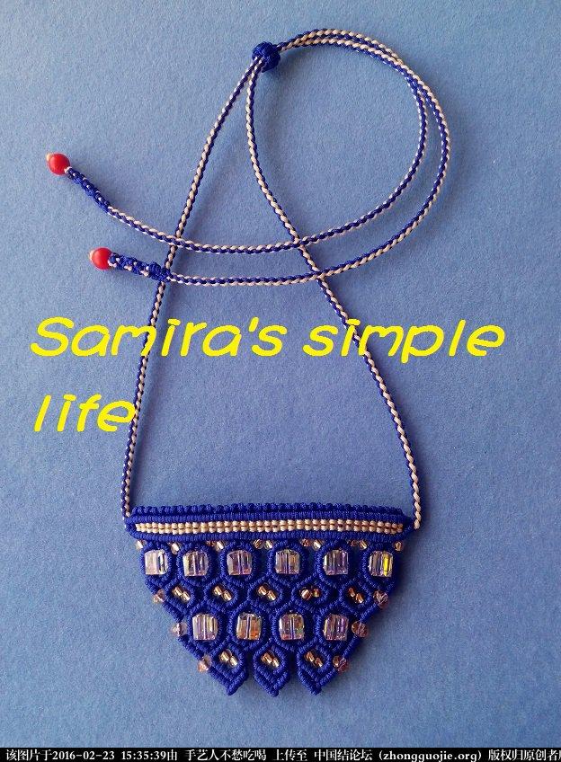 中国结论坛 一款带有珠宝气质的绳编项链-新手原创 项链,珠宝 图文教程区 153013z5znirmp5y07drhy