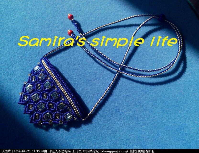 中国结论坛 一款带有珠宝气质的绳编项链-新手原创 项链,珠宝 图文教程区 153018g4b05j4abb5bbje4