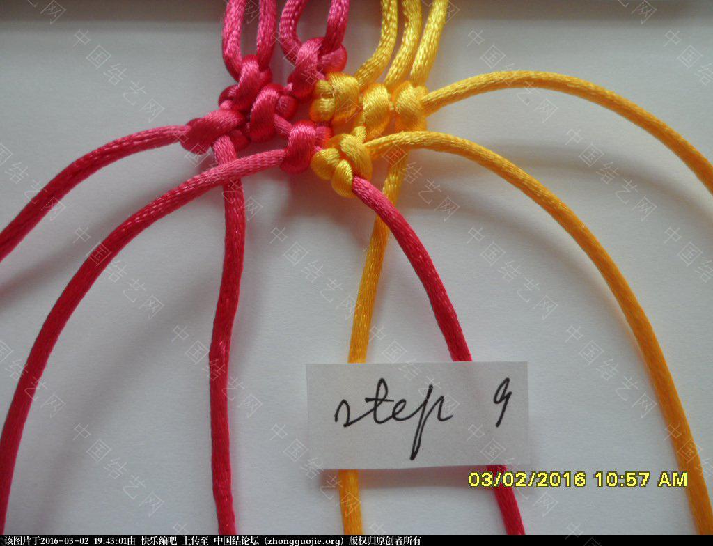 中国结论坛 双色手绳教程——反斜卷结与雀头结组合练习 左右 图文教程区 193914hbbeuu11ain1up2n