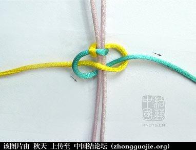 中国结论坛 平结 初级达标 基本结-新手入门必看 103207yt5ub591s4ia41ui