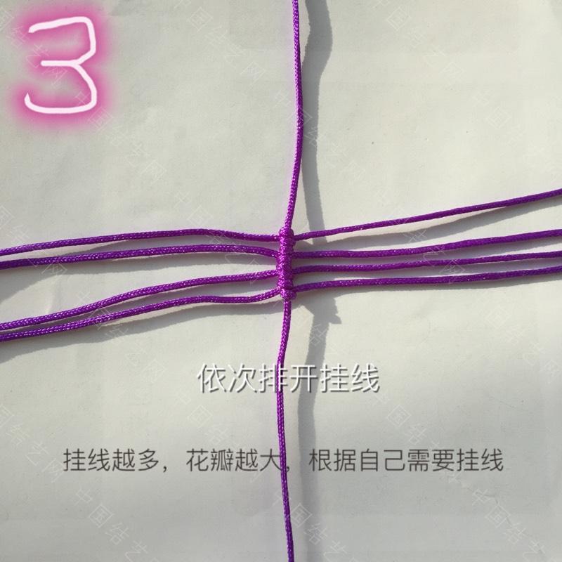 中国结论坛 莲花花瓣非常详细的步骤  立体绳结教程与交流区 100610qonnhe5igs68riiq