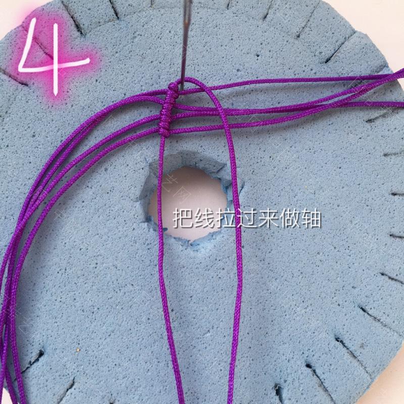 中国结论坛 莲花花瓣非常详细的步骤  立体绳结教程与交流区 100611wp92sxzxilcidf88