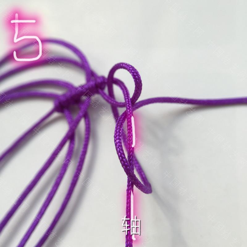 中国结论坛 莲花花瓣非常详细的步骤  立体绳结教程与交流区 100611z8h98z2dtts1l6h3
