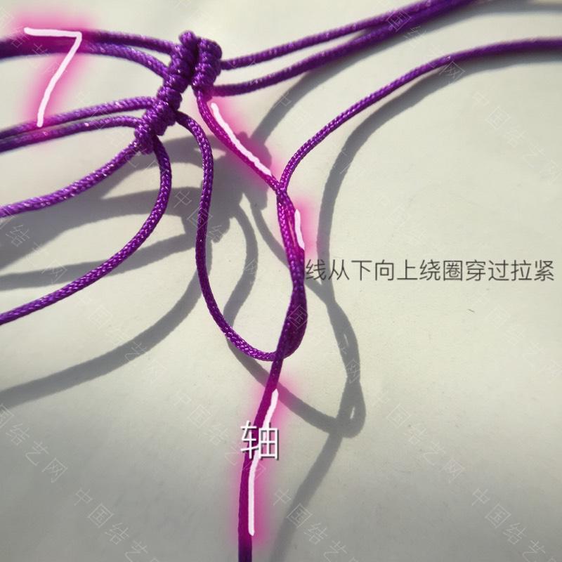 中国结论坛 莲花花瓣非常详细的步骤  立体绳结教程与交流区 100612x3vg9qz3b953btfe