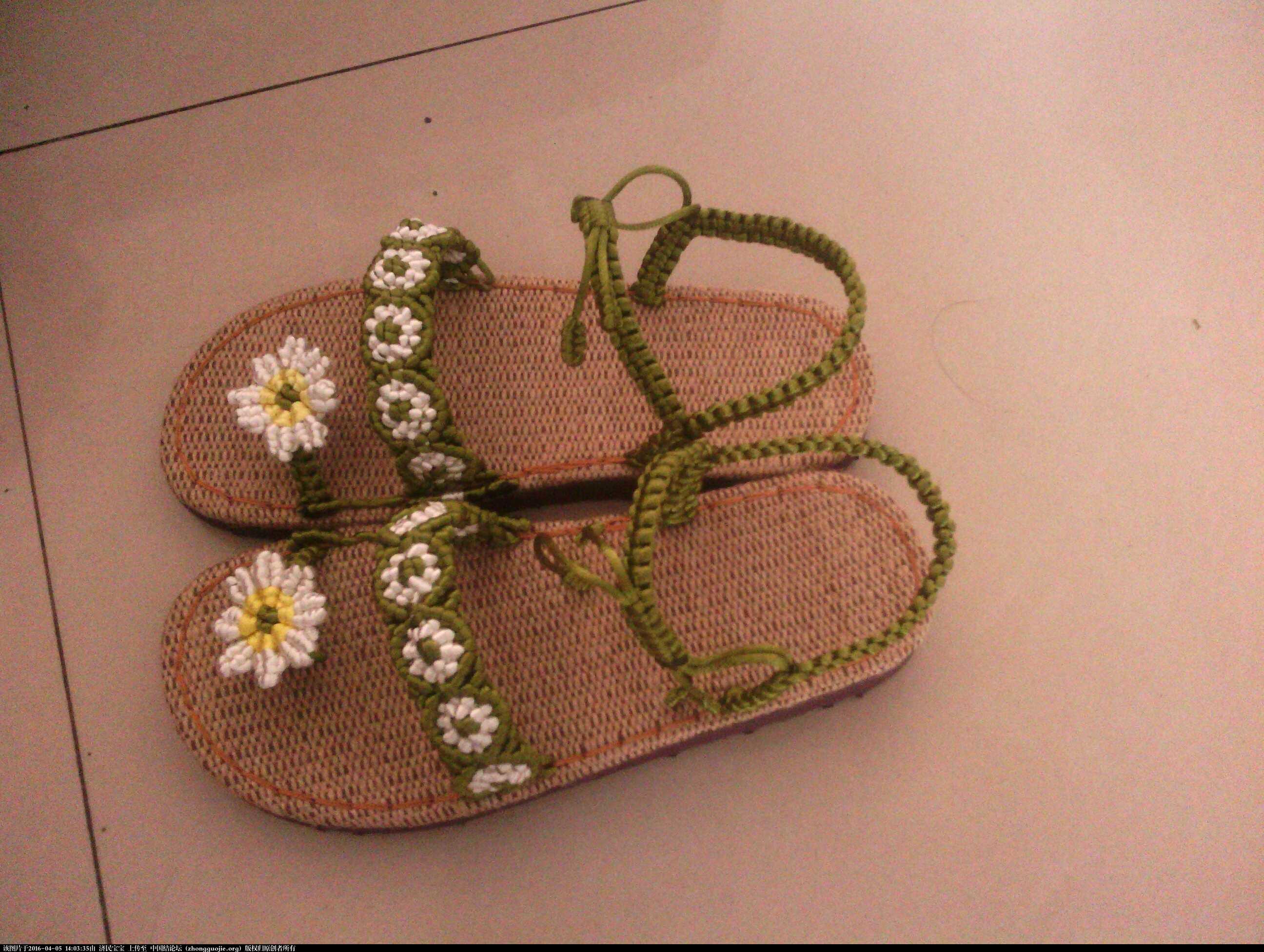 中国结论坛 凉鞋一款 凉鞋 作品展示 140120w2287u72a515h8qa