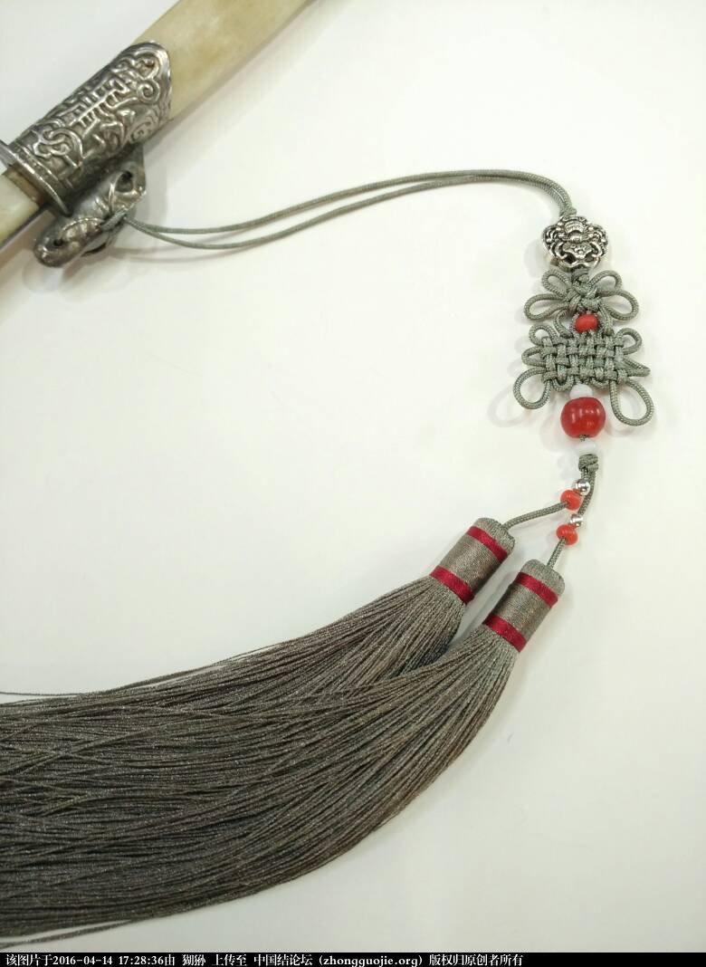 中国结论坛 刀穗 刀上的穗叫什么,剑穗的作用,刀鞘编绳,戚家刀,环首刀 作品展示 172836nokuouuo3k0kc44i