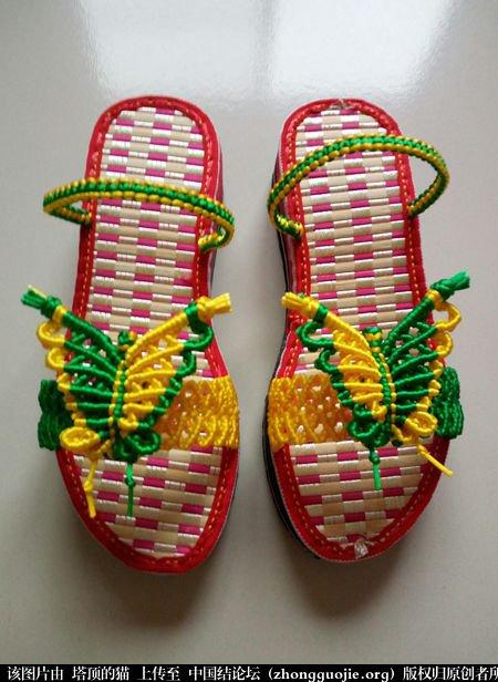 中国结论坛 两色蝴蝶拖鞋 蝴蝶,拖鞋 图文教程区 220425fl7yoqqnlbyez161