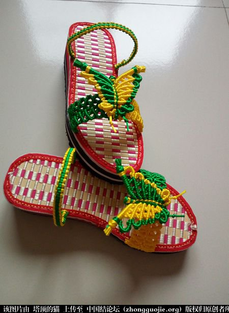 中国结论坛 两色蝴蝶拖鞋 蝴蝶,拖鞋 图文教程区 220453ahg4c44hngc436dh
