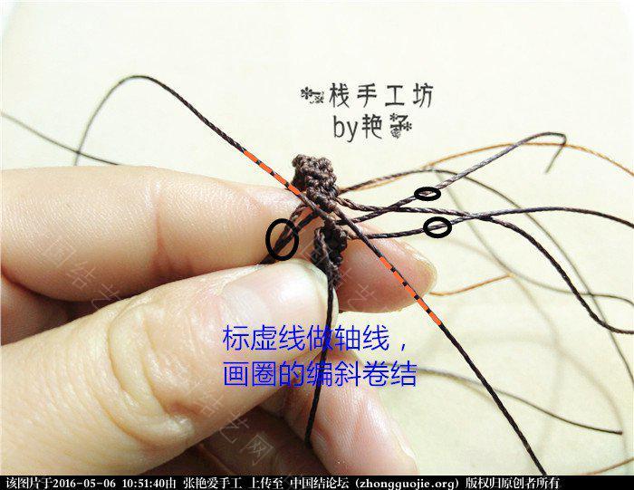 中国结论坛 macrame琥珀戒指       教程 戒指 图文教程区 105041fadk2w22awaa23cc