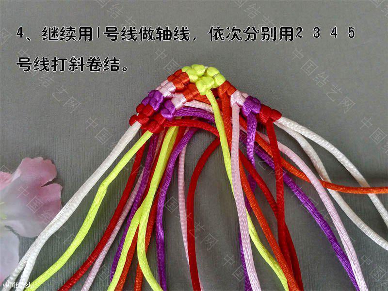中国结论坛 端午节挂饰迷你小鱼——根据老师的教程改编 迷你 立体绳结教程与交流区 215553a24le6laqpn4q228