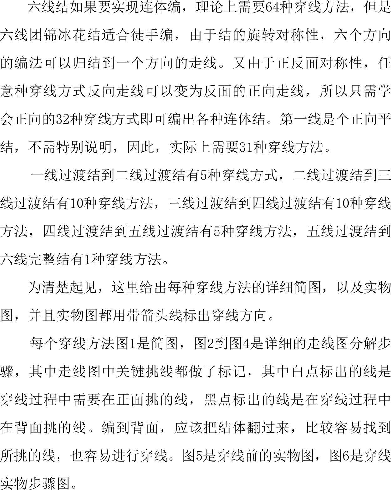 中国结论坛 六线团锦冰花结基础(二)二线过度结编法  冰花结(华瑶结)的教程与讨论区 085557bzlm7rz288zi0x27