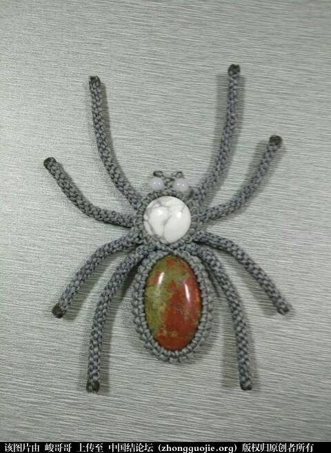中国结论坛 包石头蜘蛛  立体绳结教程与交流区 184333q2t8ugilcg08gnu9