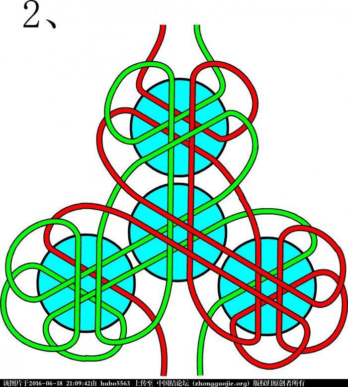 中国结论坛 52张六线团锦冰花结连体简图  冰花结(华瑶结)的教程与讨论区 210125oxgupava3xxhaxgw