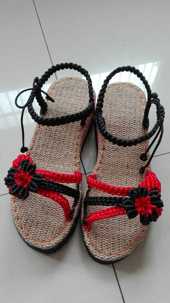 中国结论坛 整个夏天都忙着编凉鞋了,想学习新知都没时间…  作品展示 212304pk89zz9kvxfzb9fu